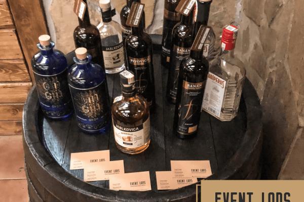 Ochutnávka slovenských destilátov