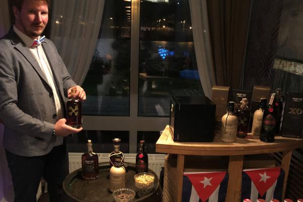 Ochutnávka rumu a cigár