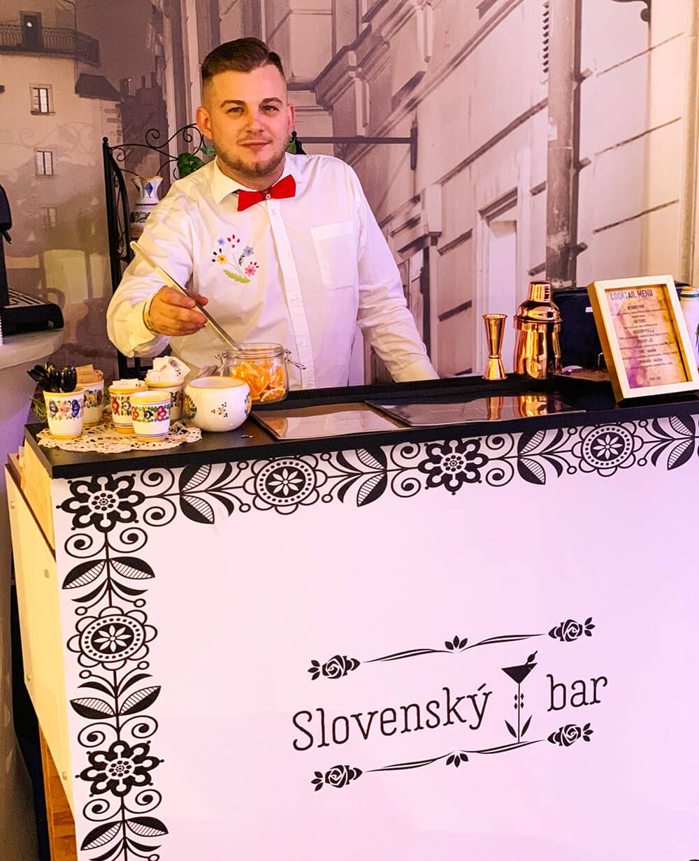 Slovenský bar na svadbu