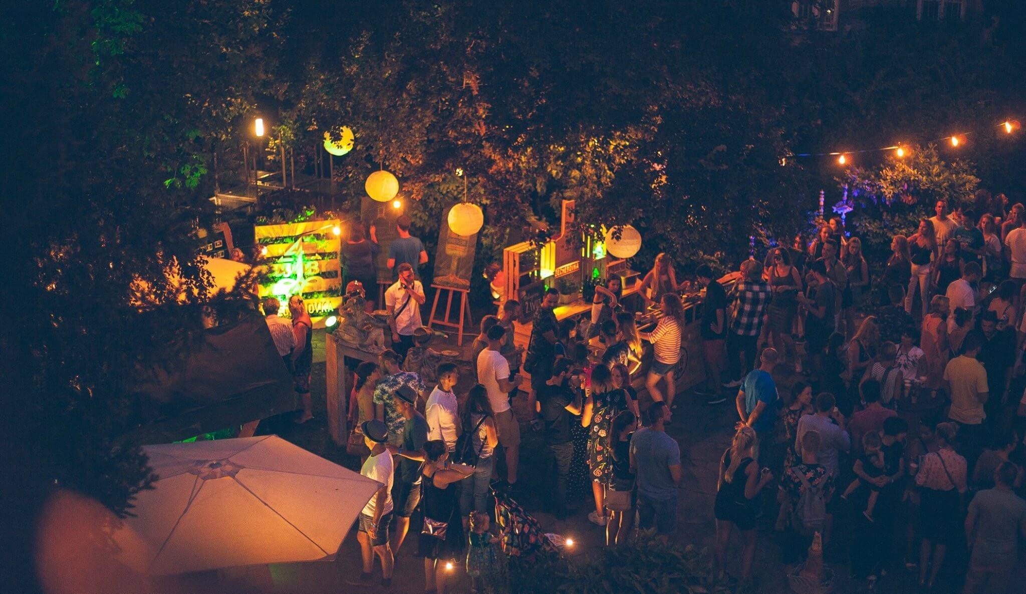 Becherovka garden party